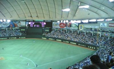 2005年5月25日ドーム野球試合