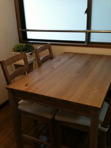 ダイニングテーブル,イケア,dinning table,ikea
