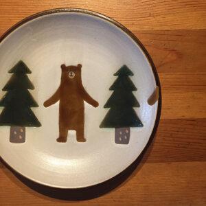 クマ皿,ヤッチとムーン,やちむん