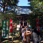 2018年初詣 中野・上高田氷川神社