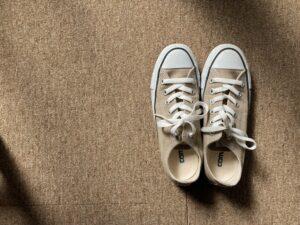 スニーカー、靴紐