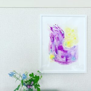 abstract painting Free your wing